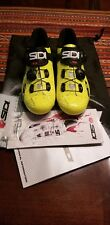 Sidi Wire Carbon Cycling Shoes – Yellow Fluo – Male - Size 39EU
