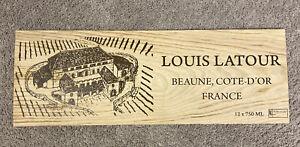 Louis Latour Beautiful Wood Wine Panel