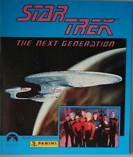 RARE PANINI 1992 STAR TREK THE NEXT GENERATION STICKER ALBUM BOOK COMPLETE