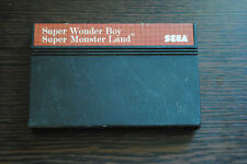 Jeu SUPER WONDER BOY MONSTER LAND pour Sega MASTER SYSTEM (CARTOUCHE SEULE)