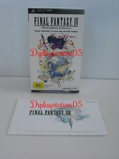 Final Fantasy IV The Complete COLLECTION SONY PSP Brand New and sealed,100% AUS