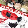 12V 180W 37000RPM 5 Gear Chainsaw Sharpener Electric Grinder Chain Grinder File