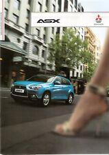 Prospekt / Brochure Mitsubishi ASX 12/2010 mit Preisliste