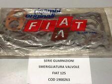 FIAT 125 SERIE GUARNIZIONE SMERIGLIATURA VALVOLE COMPLETA