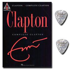 Complete Clapton - Songbook mit 2 Fender Plektren - HLE690936 - 9781423434375