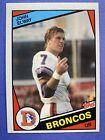 1984 Topps John Elway Denver Broncos #63 Football Card