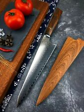 8'' Professional chef knife vg10 Damascus steel Kitchen Knives Best Cooking Tool