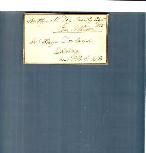 1825 Southwell Eakring England Kaye Dowland  Document