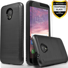 For Nokia 3.1C/ 3.1A Phone Case,Shockproof Cover+Tempered Glass Screen Protector