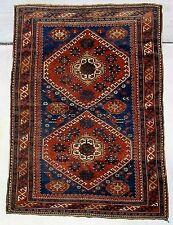 ANTIQUE 1900 KAZAK CAUCASIAN RUG