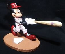 Extremely Rare! Walt Disney Mickey Mouse Playing Baseball LE Fig Statue 2012