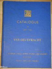 Veb deutfracht seereederei rostock Catalogue of ship's type 1971 types de navires