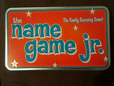 Hard to find- The name game jr. Tin - Family guessing card game - free shipping