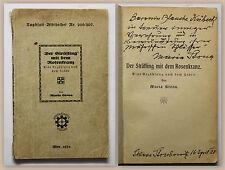 Maria Stona Scholz Der Sträfling mit dem Rosenkranz 1925 mit Widmung Erzählung