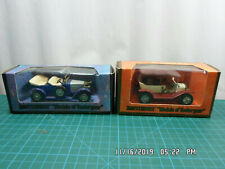 Matchbox ~ Models of Yesteryear~1914 Prince Henry Vauxhall & Ford 1911 Model T