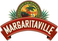 MARGARITAVILLE DECAL STICKER 3M USA MADE TRUCK HELMET VEHICLE WINDOW CAR BUMPER