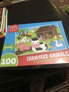 Childs Farmyard 100 Piece Puzzle