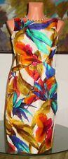NWT Anne Klein PASSAGE TO INDIA Silk Dress, sz 4 * $198
