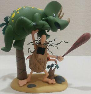 McFarlane Toys 2006 Hanna Barbera series Captain Caveman with dinosaur