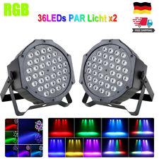 RGB 36W LED Bühnenbeleuchtung Stage Licht DMX Disco Party Show Club Strahler DE