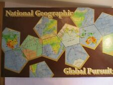 National Geographic Global Pursuit Trivia Geography Game Preowned Complete 1987