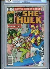 Savage She-Hulk #18 CGC 9.8 White The Grappler