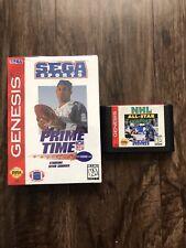Prime Time NFL with Deon Sanders (Sega Genesis, 1995)  NEW Sealed NHL (Not Seal)