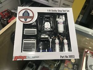 1:18 Shelby Tool Shop Set GMP Diorama Workshop