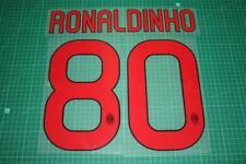 AC Milan 10/11 #80 RONALDINHO Awaykit Nameset Printing