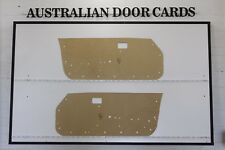 Mazda RX7 FB Coupe Door Cards. 79-85 Savanna Blank Trim Panels. First generation