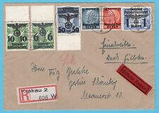 GERMANY General Gouvernement R expres cover 1940 Krakau Poland to Berlin
