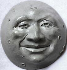 Handmade Folk Art Man in the Moon, an Original Wall Sculpture by Claybraven