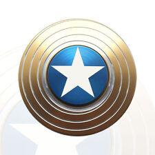 SCUDO di Capitan America a mano Spinner giocattolo EDC FOCUS ADHD Autismo Bambini Regalo-Oro