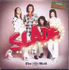 SLADE: LIVE - UK PROMO CD ALBUM (2007) 10 TRACKS: HOW DOES IT FEEL, EVERYDAY ETC