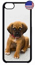 For Apple iPod 4 5 6 Hard Skin Back New Cute Case Cover Puppy Dog Paw Pet Design