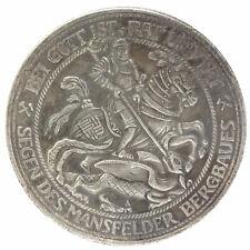 COPIA Moneta Germania 3 marchi 1915 Cavaliere e Dragone Bei Gott Ist Rat und Tat