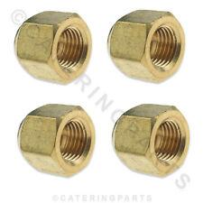 """Confezione da 4 1/4 """"breve Flare NUTS per la refrigerazione tubazioni Copper Tubing BUCATO TUBI"""