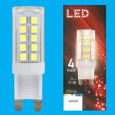 4x 4W (=35W) LED 6500K Natural Daylight G9 Capsule Light Bulb Lamp 180-260V
