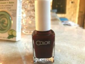 Sally Hansen Salon Manicure Cuticle Eraser & Balm #3224 plus Nail Polish!
