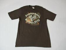 VINTAGE G-Unit Shirt Adult Medium Brown White 50 Cent Hip Hop Rap Music Mens