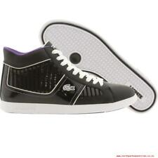 Lacoste Women's Observe 2 High MB (Black / Deep Lavender) Shoes Snickers 7.5