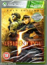 Resident Evil 5 GOLD Edition  'New & Sealed' *XBOX 360*