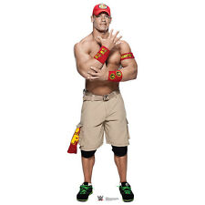 JOHN CENA WWE Wrestler Lifesize No Shirt CARDBOARD CUTOUT Standup Standee Poster