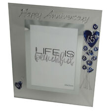 65th Wedding Anniversary Photo Frame (P)Flower