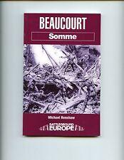 SOMME-  BEAUCOURT, Michael Renshaw   UK SB, 1st  VG