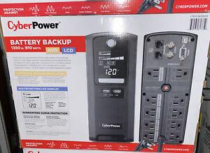 CyberPower 1350va 810watts Battery Backup
