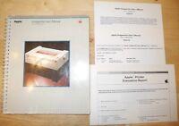 1983 Apple ImageWriter I Printer MANUAL for 1984 Macintosh Mac 128k 512K IIe IIc
