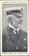 Lambert & Butler - Naval Portraits, A Series of 25 - 27 - Rear-Adm M E Browning
