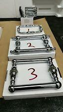 3 PIECE SHOWER DOOR COMBO 2 WATERTIGHT HINGES & 1 TRADITIONAL HANDLE  PROF GRADE