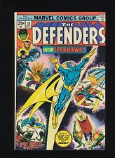 DEFENDERS #28 (Marvel 1975)! 1ST APP OF STARHAWK! SEE PICS AND SCANS! WOW! KEY!